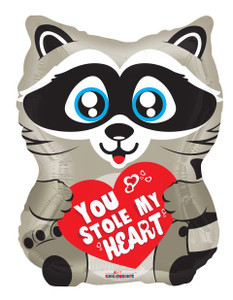 raccoon balloons you stole my heart