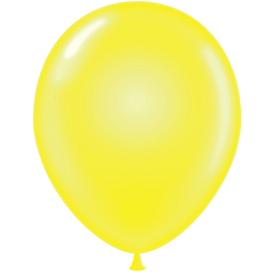"9"" Latex Balloon (Crystal Colors) - Custom Balloon Printing"