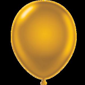"9"" Latex Balloon (Metallic Colors) - Custom Balloon Printing"