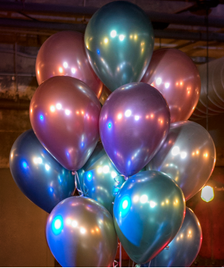 Qualatex Chrome 260Q GOLD Twisting Latex Balloon 100ct BALLOONSFAST.COM