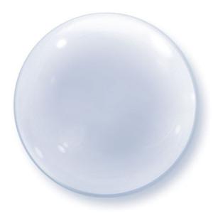 "24"" Clear Deco Bubble Balloon 1pk #68825"