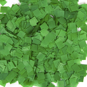 Confetti Dark Green Snow Tissue Confetti 1LB Bag
