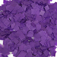 purple confetti
