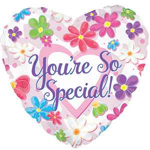 "9"" You're So Special Flowers Air Fill 1ct #224233"