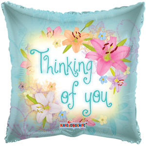 "18"" Thinking Of You Spring Flowers  (5 Pack) 19302-18"
