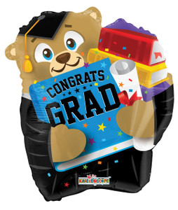 graduation bear balloon