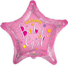 welcome baby balloons