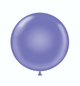 "17"" Tuf-Tex Lavender Latex Balloons 72ct #11725"