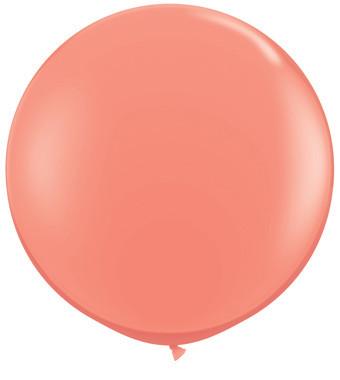 coral balloons