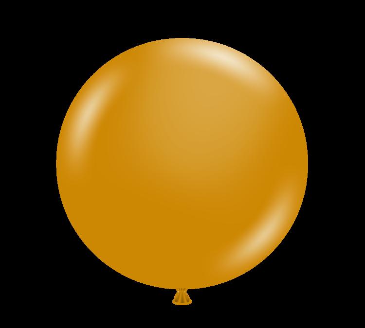 Gold Metallic Leopard Print Biodegradable Latex Balloons