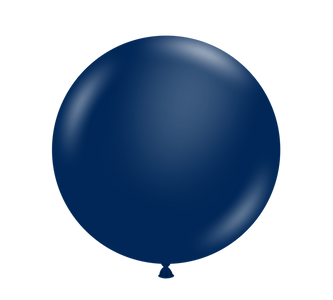 "11"" Tuf-Tex Metallic Midnight Blue Latex Balloons 100ct  #10051"