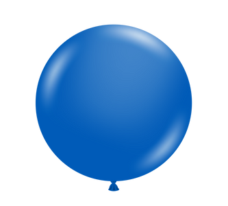 "11"" Tuf-Tex Metallic Blue Latex Balloons 100ct  #10059"