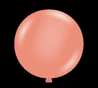 tuf tex balloons metallic rose gold