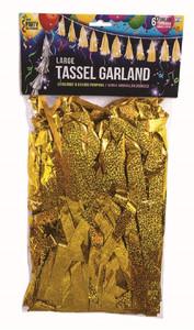 gold balloon garland