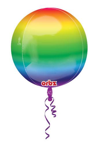 rainbow orbz balloons