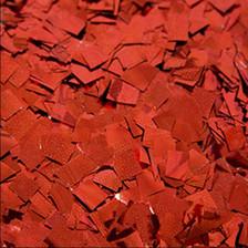 red confetti