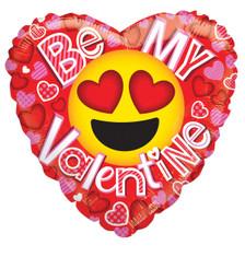 valentine balloons emoji balloons