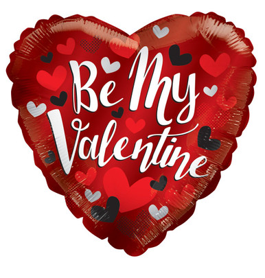 be my valentine balloons