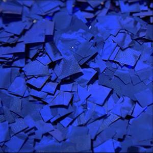 confetti blue metallic confetti