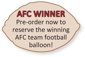 Afc footbal balloons