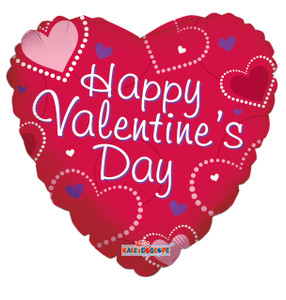 mini valentine balloons