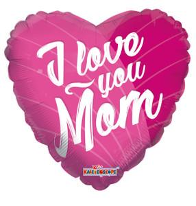 i love you mom balloon