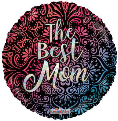 the best mom helium foil balloon