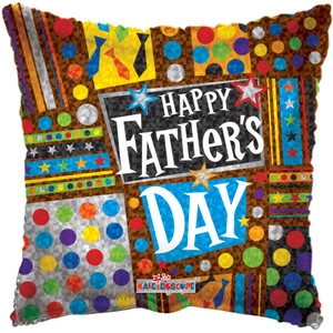 happy fathers day air fill stick balloons