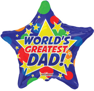 worlds greatest dad balloon