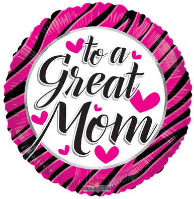 to a great mom balloon