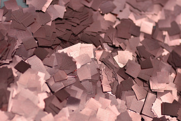 CONFETTIN METALLIC ROSE GOLD CONFETTI