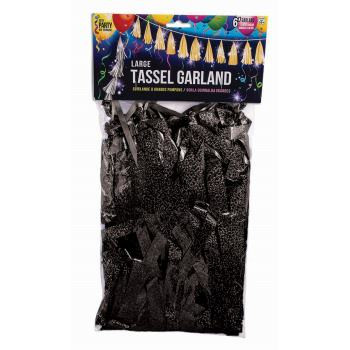 balloon tassels black tassel