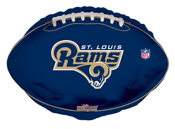 rams football balloons
