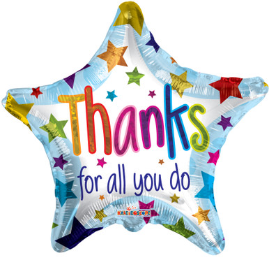 wholesale balloons thanks for all you do balloons