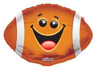 football balloons, football shaped balloons