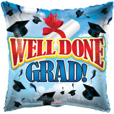 well done grad