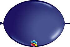navy blue link balloons