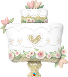wedding cake balloon