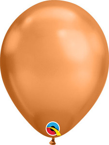 chrome copper balloons,copper color latex balloons