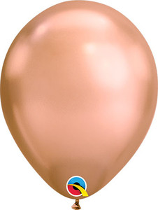 rose gold  chrome balloons