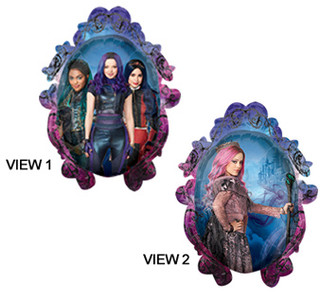 descendants large shape balloons