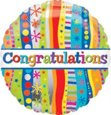 congratulations balloons