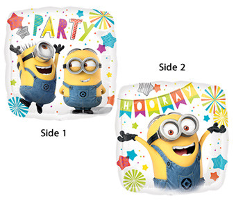 "18"" Despicable Me Minion Party Helium Balloon #36159"