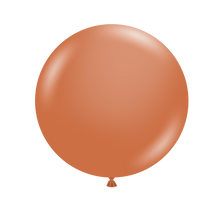 tuf tex balloons burnt orange