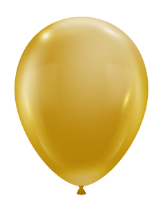 luxe gold balloons by tuf tex