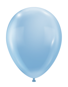 luxe blue ice balloons by tuf tex