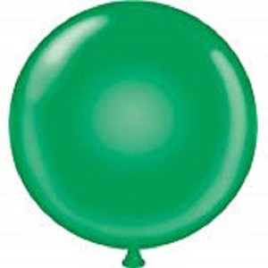 "60"" Giant Green Round Latex Balloon 1ct #6004"