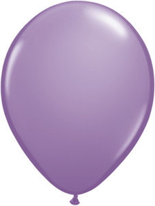 "5"" Tuf Tex Lavender Latex Balloons 50 ct Bag #15025"