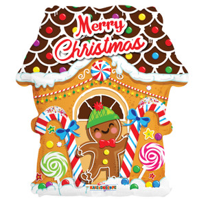 """18"""" Christmas Gingerbread House (5 PACK)89151-18"""