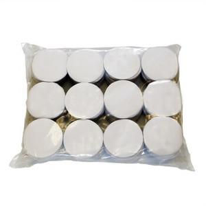 """Confetti White 2"""" Circles Confetti Tissue 1LB Bag"""